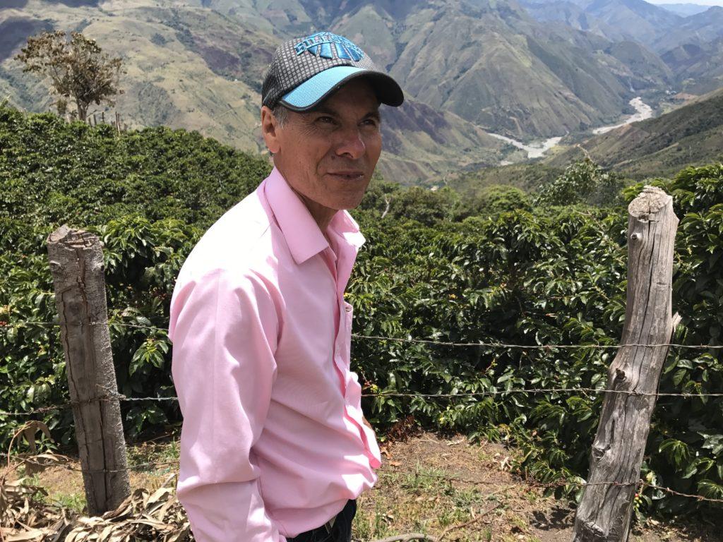 Bilde av kaffebonden Jesus Saavedra
