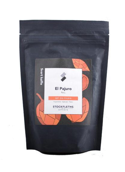 Bilde av en pose med kaffebønner fra Peru