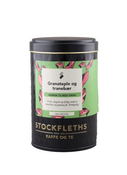 Bilde av teboks med grønn te